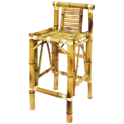 RAM Game Room Bamboo Tiki Bar Chairs (Set of 2)_Bar Stool - Barstool Boutique