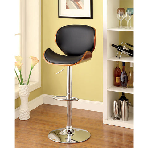 Furniture of America Belo Adjustable Bar Chair_Bar Stool - Barstool Boutique