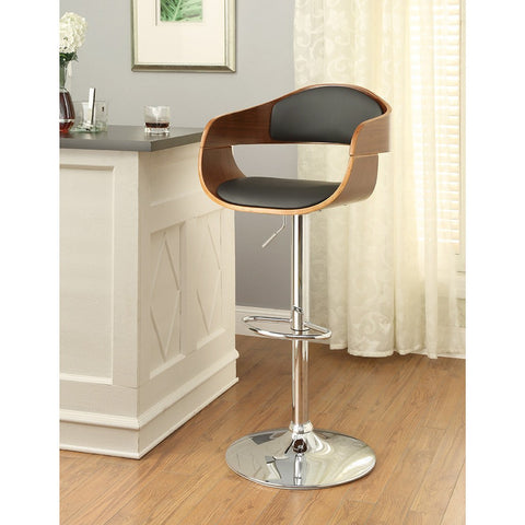 Furniture of America Boxil Adjustable Bar Chair_Bar Stool - Barstool Boutique