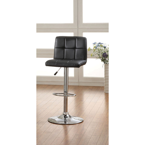 Furniture of America Brooks Adjustable Bar Chair_Bar Stool - Barstool Boutique