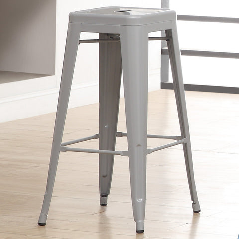 Bar Stool - Chios Steel Bar Stool (set Of 2)