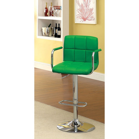 Furniture of America Corfu Adjustable Bar Chair_Bar Stool - Barstool Boutique