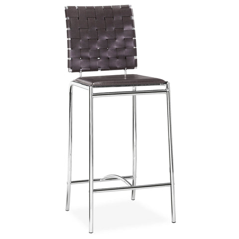 Zuo Criss Cross Counter Chair_Bar Stool - Barstool Boutique