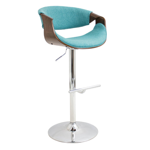 LumiSource Curvo Adjustable Bar Chair_Bar Stool - Barstool Boutique
