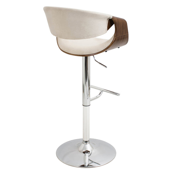 ... LumiSource Curvo Adjustable Bar Chair_Bar Stool   Barstool Boutique ...