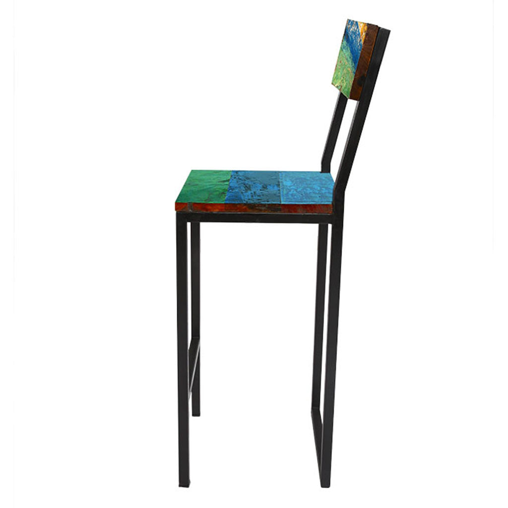 Ecochic Fin And Tonic Bar Chair Bar Stool Boutique