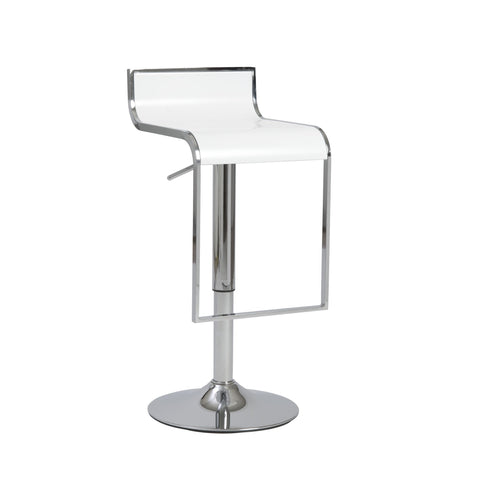 EuroStyle Fortuna Adjustable Bar Stool_Bar Stool - Barstool Boutique