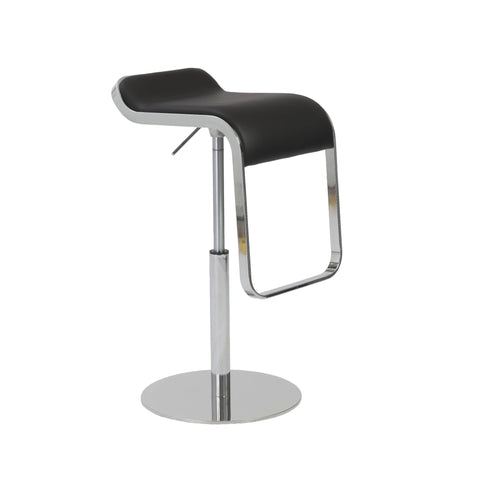 EuroStyle Freddy Adjustable Bar Stool_Bar Stool - Barstool Boutique