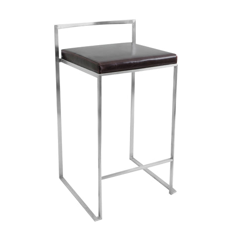LumiSource Fuji Stacker Counter Stool_Bar Stool - Barstool Boutique