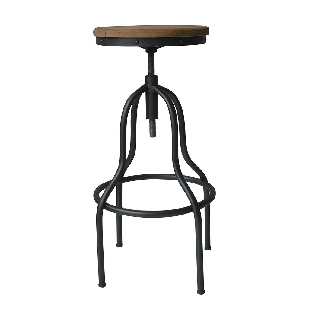 Moe S Home Hanna Adjustable Bar Stool Bar Stool Boutique