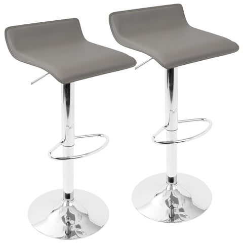 Bar Stool - LumiSource Ale Adjustable Bar Stool (Set Of 2)