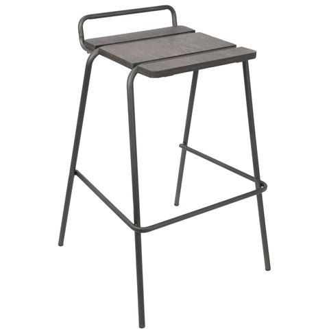 Bar Stool - LumiSource Blake Bar Stool (Set Of 3)