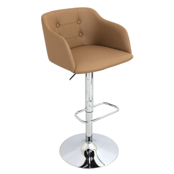 Lumisource Campania Adjustable Bar Chair Bar Stool Boutique