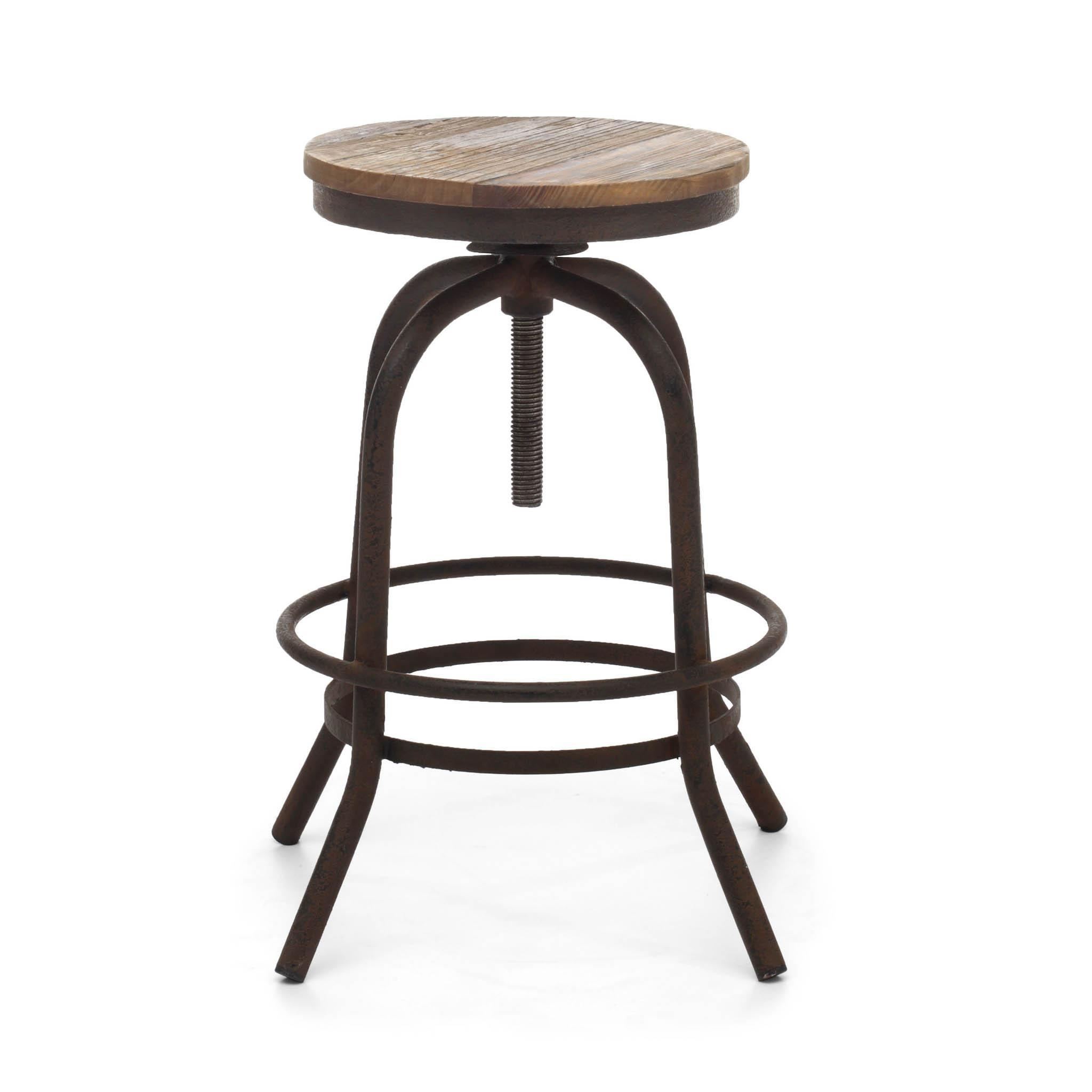 zuo twin peaks adjustable counter stool  bar stool boutique -  bar stool  twin peaks adjustable counter stool