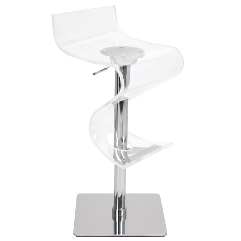 Bar Stool - Viva Acrylic Bar Stool