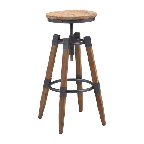 Bar Stool - Zuo Curry Bar Stool