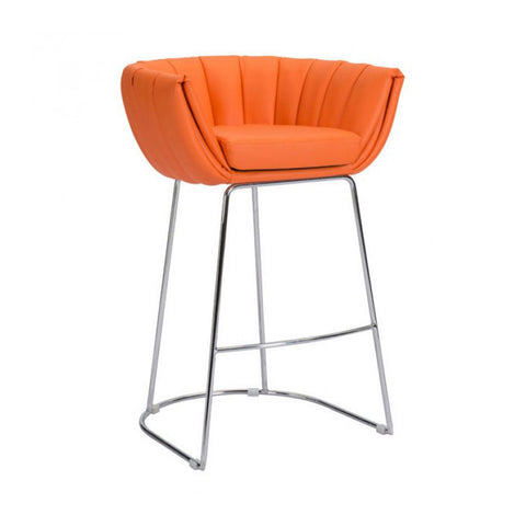 Bar Stool - Zuo Latte Counter Chair