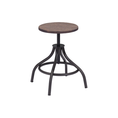 Bar Stool - Zuo Plato Adjustable Stool