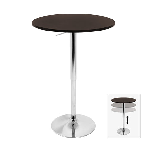 Bar Table - LumiSource Adjustable Bar Table