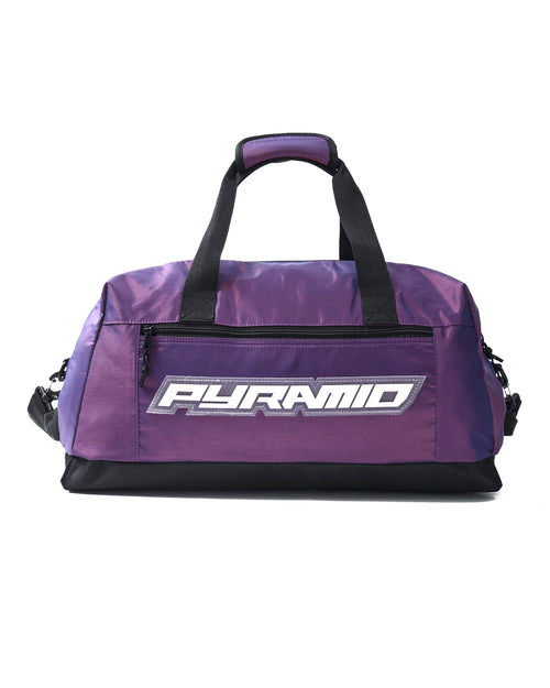 Black Pyramid Weekend Duffle Bag (Purple)