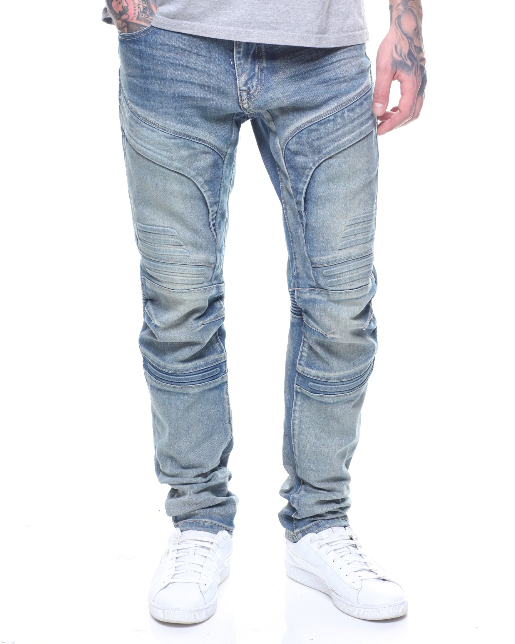Smoke Rise Gel Injected Denim