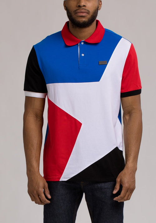 Hudson Multicolor Star Polo T-Shirt