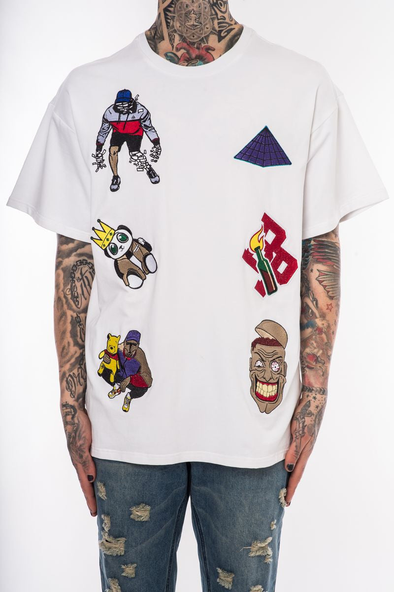 Multi Patch Tee