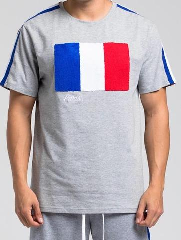 Hudson Paris Flag SS Shirt