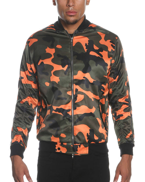 Reves Paris Orange Camo