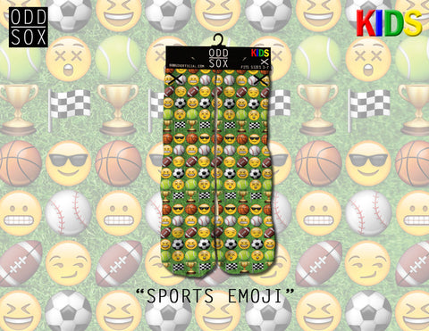 Sports Emoji Kids (odd sox)