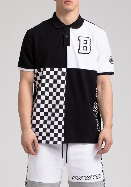 BP Micro Checker Block Polo