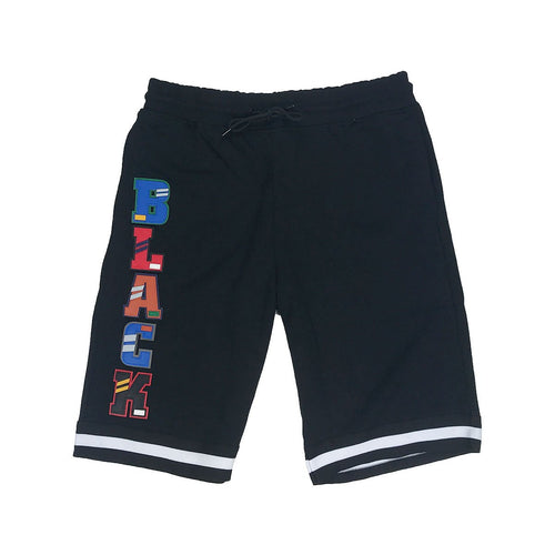 Black Pyramid Letters Pants