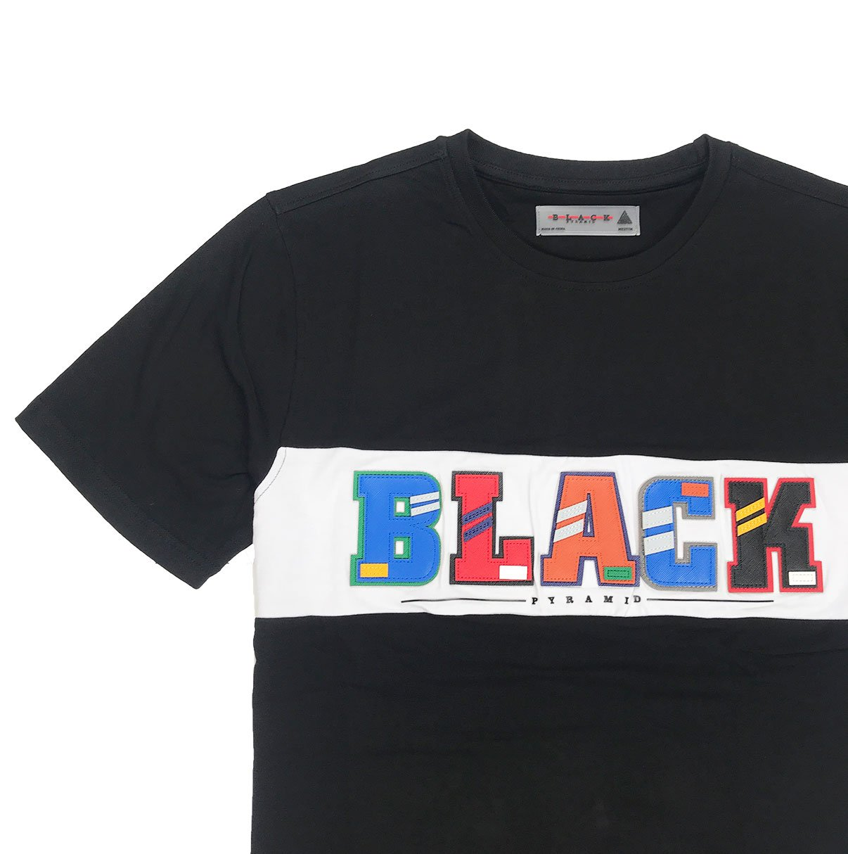 Black Pyramid Letters Shirt
