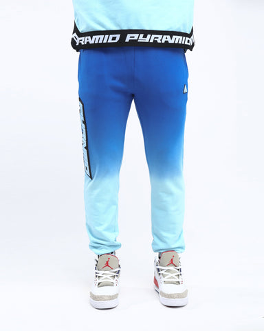 Black Pyramid Dip Dye Pant (BLUE)
