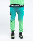 Black Pyramid Dip Dye Pant (GREEN)
