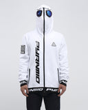 Black Pyramid Goggle Hoody (WHITE)