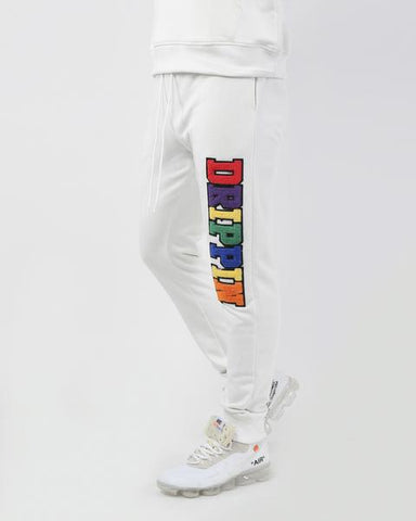 Drippin Jogger Pant (White)