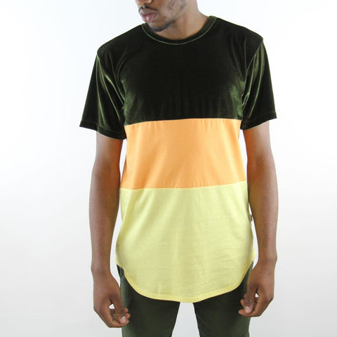 EPTM Velour Stripe Tee