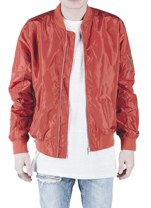 Rosa Strapped Bomber Jacket