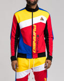 BP Color Block Track Jacket (Multicolor)