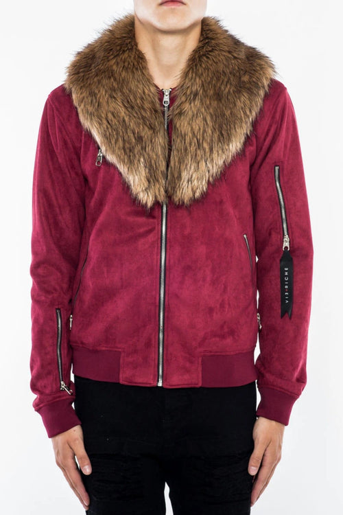 Vie Riche Suede Fur