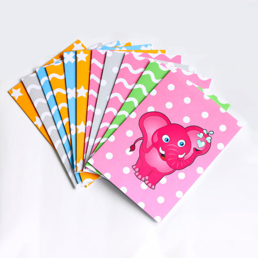 Zoolu Card Game Animal Greeting Card 10 Pack