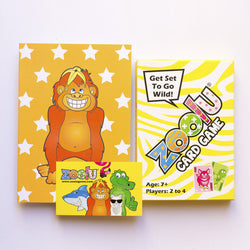 Zoolu Family Card Game Gift Pack For Kids