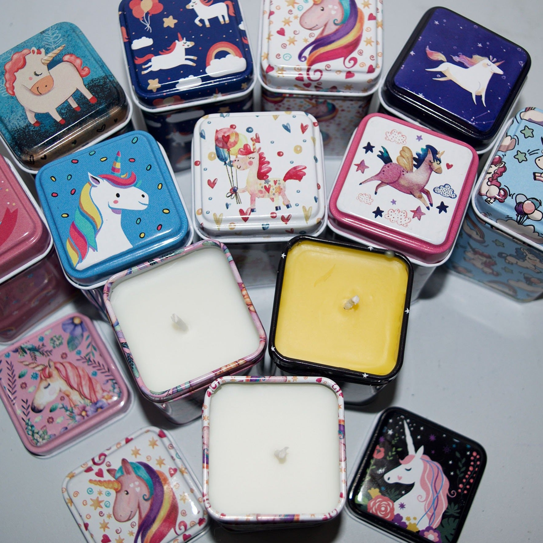 Unicorn Candles ~ limited edition