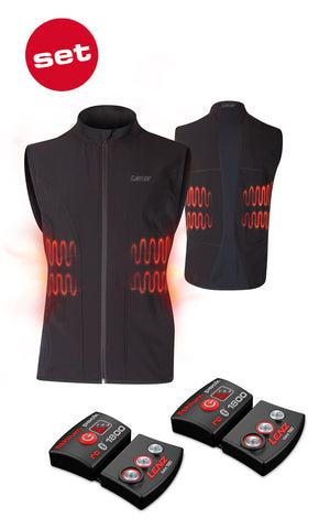 Lenz Heat Vest 1.0 + 1800 Mens & Womens