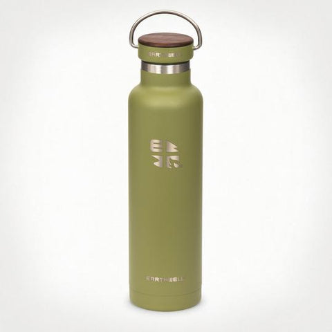 Earthwell 22oz Woodie™ Bottle - Walnut Cap