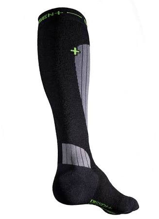 Dissent Ski GFX Compression Wool Padded Sock