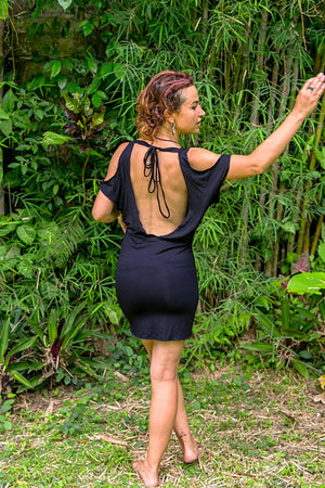 Sandra backless dress
