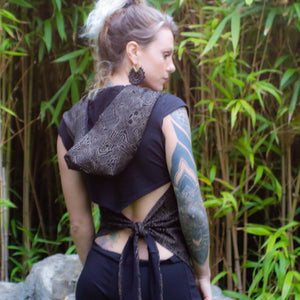 Shipibo Black & Gold Vest