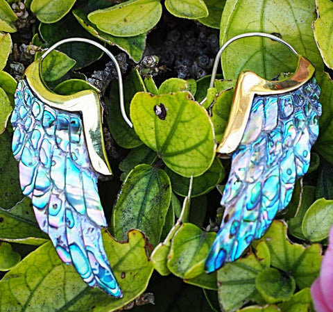 Sculpted Shell Earrings